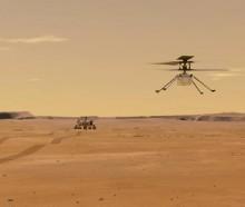 VÍDEO: Nasa faz história com o primeiro voo sobre Marte com helicóptero
