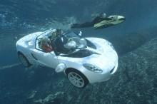 VÍDEO: Conheça o primeiro carro que nada e é inspirado em James Bond