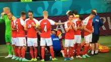Jogador tem mau súbito e recebe massagem cardíaca em partida de estreia da Eurocopa