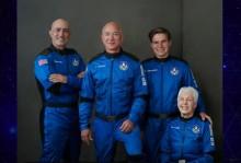 VÍDEO: Bilionário, Jeff Bezos, viaja até o espaço