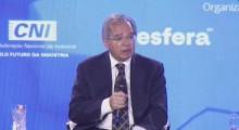 """""""A reforma tem que vir em passos evolucionários"""", afirma Paulo Guedes"""