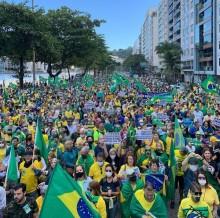 Várias capitais do Brasil aderiram às manifestações pela impressão do voto eletrônico