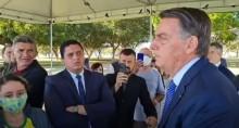 """VÍDEO: Bolsonaro reage a inquérito proposto por Barroso e diz: """"Se o povo estiver comigo, vamos fazer com que a vontade popular seja cumprida"""""""