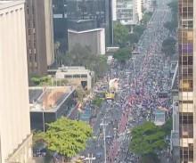 SP: Ato do MBL reúne muitos políticos de oposição, pouca gente e recusa do PT