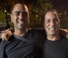 Edmundo e o filho se reconciliam após 10 anos distanciados