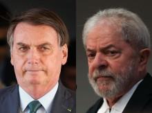 Segundo Datafolha, Lula continua na frente de Bolsonaro e venceria no 2º turno por 56% a 31%