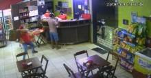 VÍDEO: Em Rondônia, deu cadeirada em ladrão e virou funcionário do mês