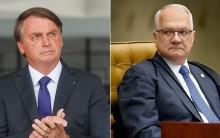 Fachin é contra ação de Bolsonaro para arquivar inquéritos ilegais