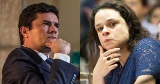 Sérgio Moro e Janaína Paschoal (Crédito: Andre Coelho/Getty Images e Estadão)