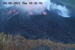 Erupção do vulcão La Soufrière no arquipélago caribenho de São Vicente e Granadinas (CRÉDITO: REUTERS)