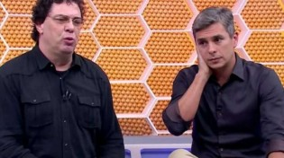 Casagrande acusou de Ivan Moré de ser traíra (CRÉDITO: REPRODUÇÃO/TV GLOBO)