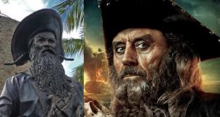 Edward Thatch, o Barba-Negra é um ícone das histórias de piratas (CRÉDITO: BART HEIRD/CC; DISNEY)