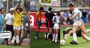 Uma das histórias mais covardes do Futebol (CRÉDITO: ALLSPORT/UK/ALLSPORT; REPRODUÇÃO; GETTY IMAGES)