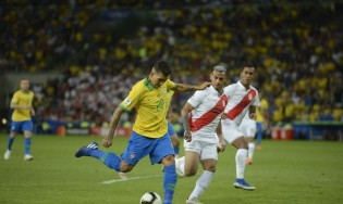 Seleção entra em campo em busca da segunda vitória na Copa América (CRÉDITO: FERNANDO FRAZÃO/AGÊNCIA BRASIL)