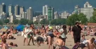 Onda de calor no Canadá, em 2021 (CRÉDITO: REPRODUÇÃO)