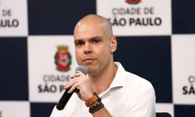 Prefeito de São Paulo, Bruno Covas.