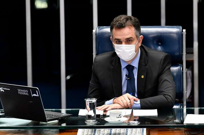 Presidente do Senado Rodrigo Pacheco (CRÉDITO: LEOPOLDO SILVA/AGÊNCIA SENADO)