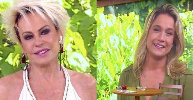 Fernanda Gentil usará antido estúdio do Mais Você de Ana Maria Braga (CRÉDITO: REPRODUÇÃO/TV GLOBO)