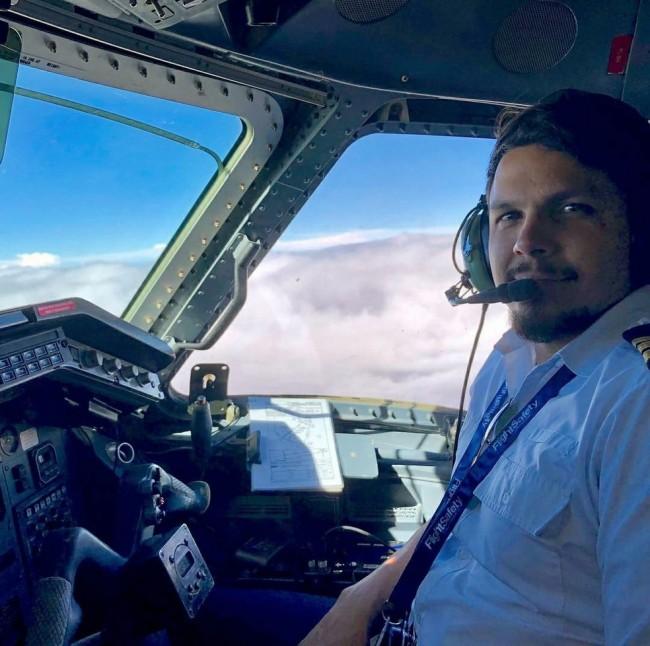 Piloto de avião Antônio Sena conhecido como Toninho Sena (CRÉDITO: REPRODUÇÃO/REDES SOCIAIS)