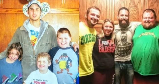 Quase 20 anos depois, Ruy se reencontrou com a família que o acolheu em uma fazenda nos EUA.