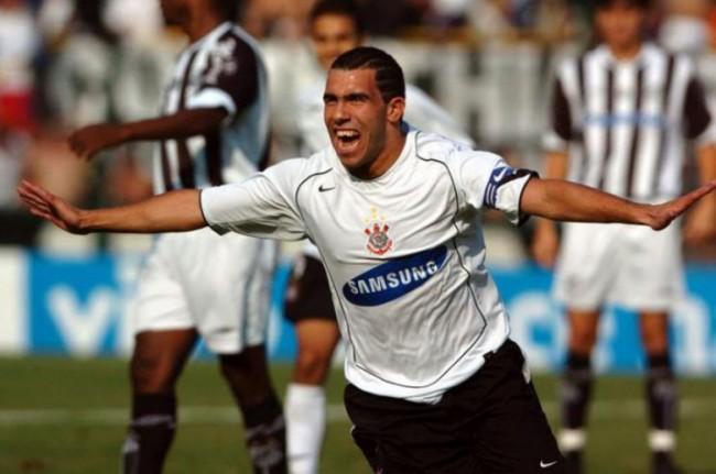 Carlitos Tevez fez parte da equipe do Corinthians em 2005 (CRÉDITO: REGINALDO CASTRO/LANCE!PRESS)