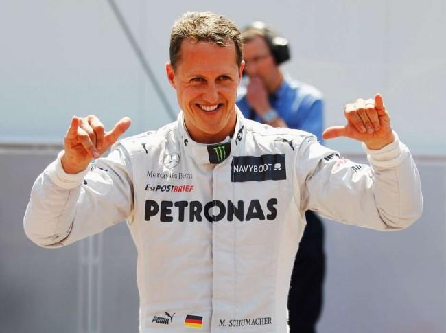 Em dezembro de 2013, Michael Schumacher descia por uma pista de esqui nos Alpes franceses quando caiu e bateu a cabeça (CRÉDITO: GETTY IMAGES)
