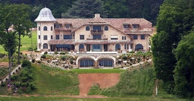 Casa de Michael Schumacher na Suíça (CRÉDITO: REPRODUÇÃO)