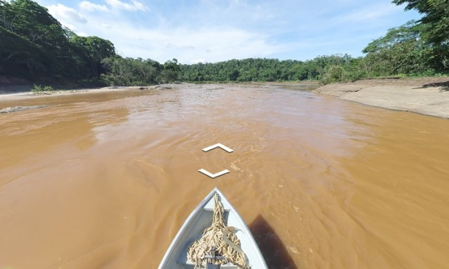 Com imagens inéditas, plataforma virtual permite navegar pelo Rio Doce (CRÉDITO: FUNDAÇÃO RENOVA/DIVULGAÇÃO)