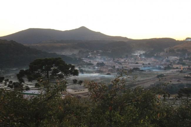 Urupema registrou a menor temperatura do estado (CRÉDITO: MARLENO MUNIZ FARIAS/ARQUIVO PESSOAL)