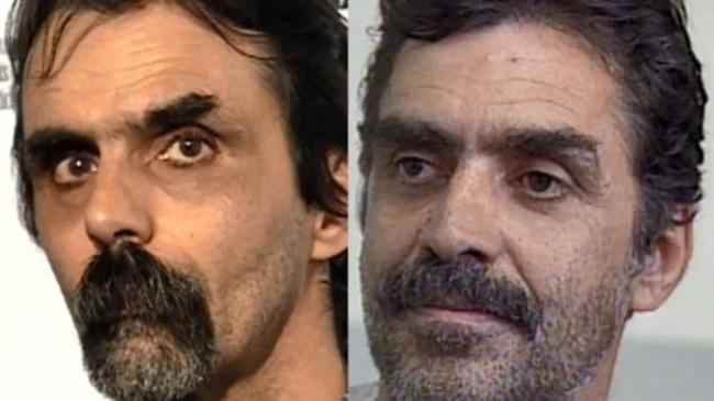 À esquerda, o Maníaco do Anchieta; à direita, Eugênio Fiúza, preso por 17 anos injustamente (CRÉDITO: DEFENSORIA PÚBLICA DE MINAS GERAIS)