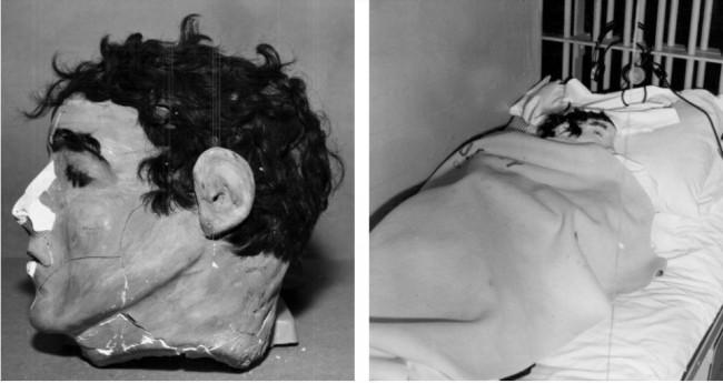 Os manequins eram feitos com sabão, pasta de dente, pó de concreto e papel higiênico, além de cabelo humano (CRÉDITO: REPRODUÇÃO/BOREDOMTHERAPY)