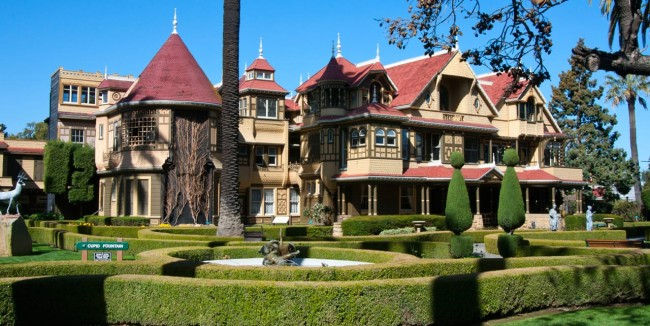 A mansão que deu origem ao sobrenome dos hunters. Em 2018 virou filme: A Maldição da Casa Winchester (CRÉDITO: VISIT CALIFORNIA)