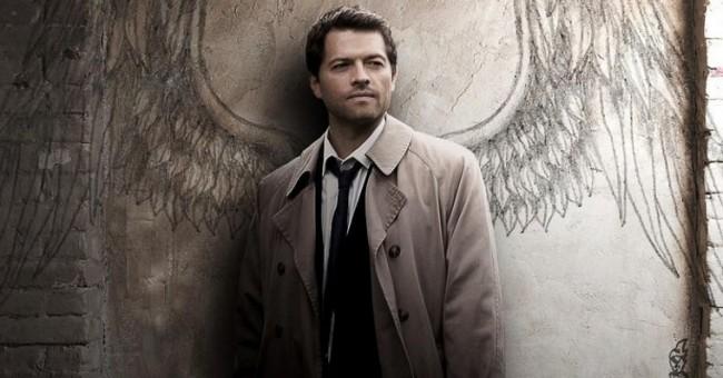 Misha Collins deu vida ao anjo Castiel (CRÉDITO: DIVULGAÇÃO)