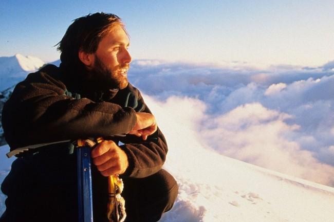 Alpinista norte-americano Erik Weihenmayer (CRÉDITO: ARQUIVO PESSOAL)