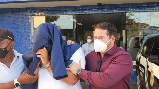 Preso suspeito de matar médico foi o amigo que registrou desaparecimento na delegacia (CRÉDITO: ALDO MATOS/ACORDA CIDADE)
