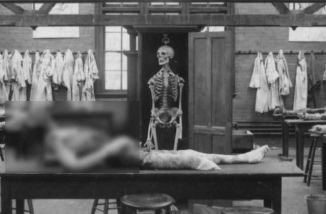 O assassino ia além, e fez um verdadeiro show macabro no porão de seu castelo: uma sala para dissecar corpos (CRÉDITO: REPRODUÇÃO)