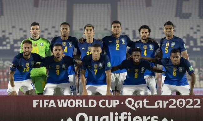 Seleção Brasileira (CRÉDITO: LUCAS FIGUEIREDO/CBF)