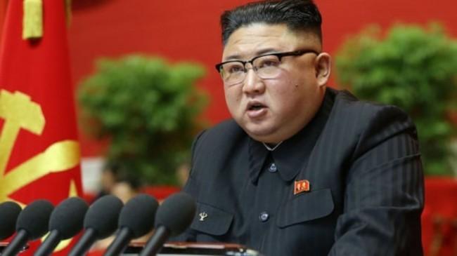 O líder norte-coreano Kim Jong-un (CRÉDITO: KCNA VIA KNS/AFP)