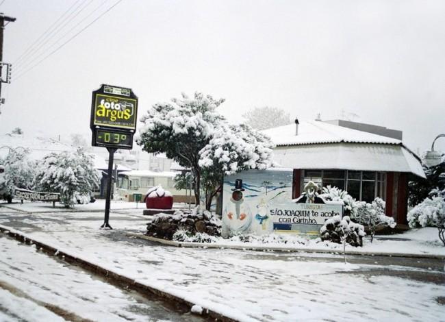 O pequeno município de São Joaquim (SC) (CRÉDITO: DIVULGAÇÃO/ARGUS)