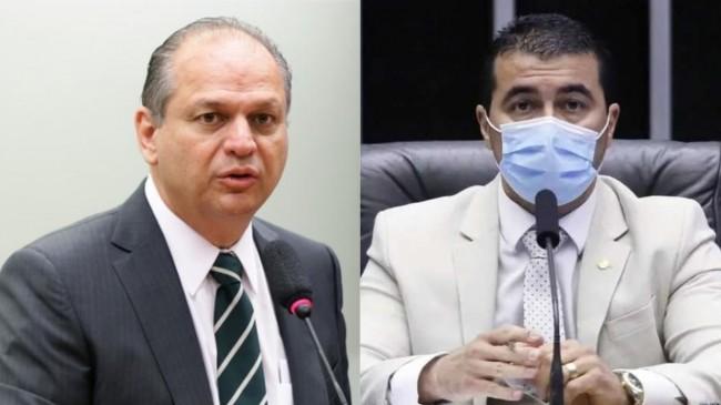 Da esquerda para direita, Ricardo Barros e Luis Miranda (CRÉDITO: AGÊNCIA CÂMARA)