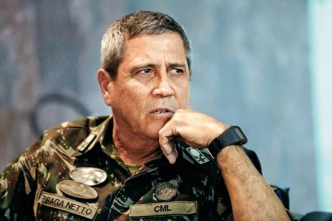General qualificou reportagem do Estadão como invenção (CRÉDITO: REPRODUÇÃO)