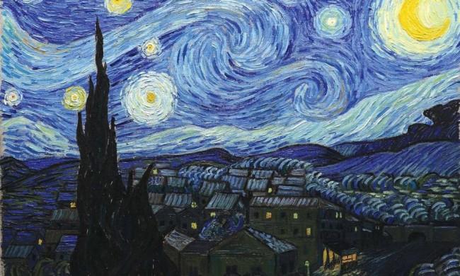 A noite estrelada é uma das obras mais aclamadas no mundo das artes (CRÉDITO: REPRODUÇÃO)