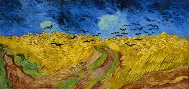 Artista eternizou plantação de milho onde se matou (CRÉDITO: REPRODUÇÃO)