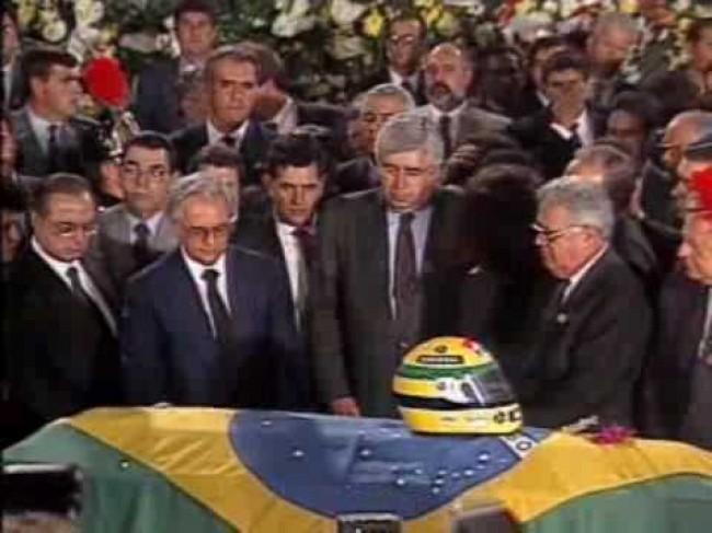 Vários políticos prestaram homenagens ao atleta (CRÉDITO: REPRODUÇÃO)