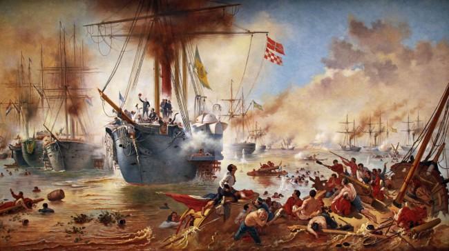 Batalha Naval do Riachuelo (CRÉDITO: REPRODUÇÃO)