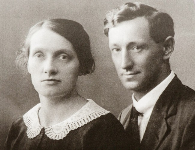 Gunnar e Frida Vingren (CRÉDITO: REPRODUÇÃO)