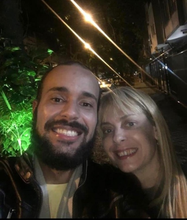 Christiane e Pedro Paulo (CRÉDITO: REPRODUÇÃO)