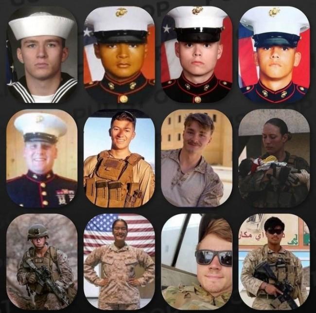 Soldados americanos mortos em atentado terrorista (CRÉDITO: REPRODUÇÃO)