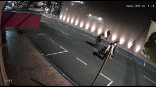 Bandidos em ação (CRÉDITO: REPRODUÇÃO)