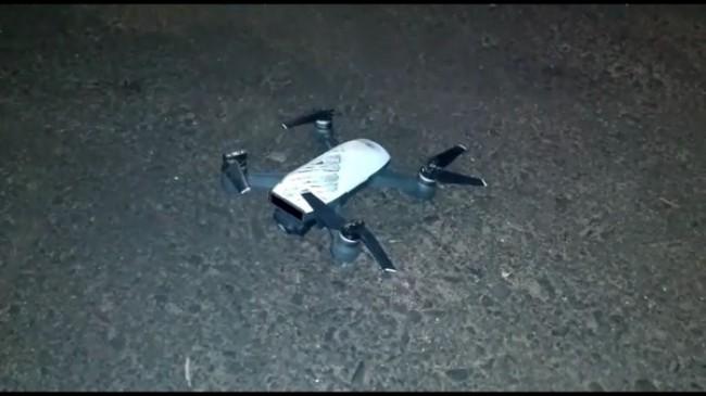 Drone utilizado pelos criminosos (CRÉDITO: REPRODUÇÃO)
